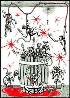 Barrel of Zomonkeys by Dr-Twistid