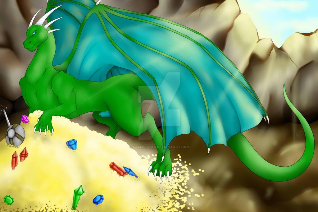 A dragons Den by Cassipillar