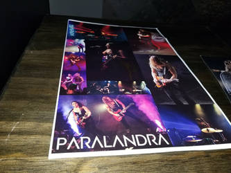 Paralandra signed poster number 1 by ATwistintheMyth