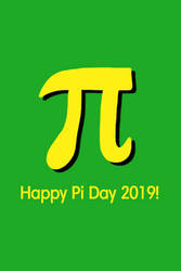 Happy Pi Day 2019! by Frank-Cookieman