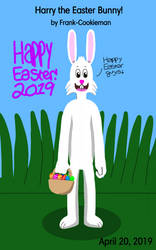 Harry the Easter Bunny! by Frank-Cookieman