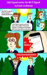 Odd Squad comic: No Wi-Fi Signal! by Frank-Cookieman