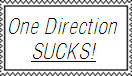One Direction Sucks Stamp by BeastWitch