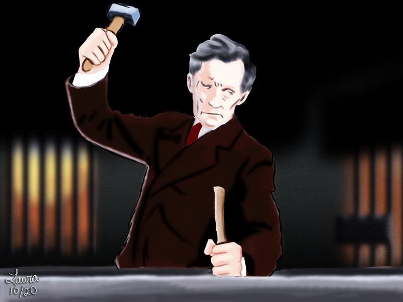 Peter Cushing as Van Helsing by subatomiclaura