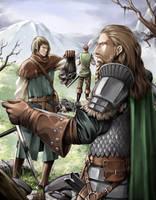 The Men of Brethil by cemungudh
