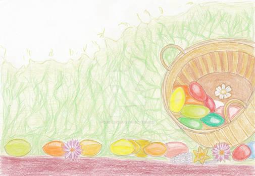 Eggs Basket-Thumbhub Easter Contest Entry