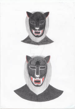 Black Young Lion Luchadores