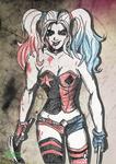 Harley Quinn Comic Effect