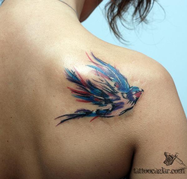 swallow by tattoozone