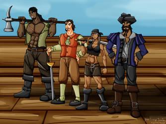 Pirates and adventurers