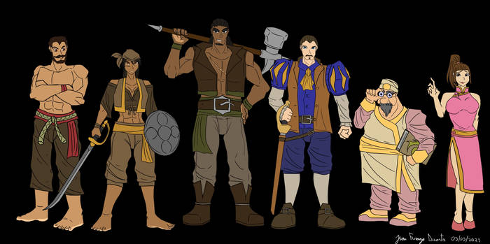 A few more random characters