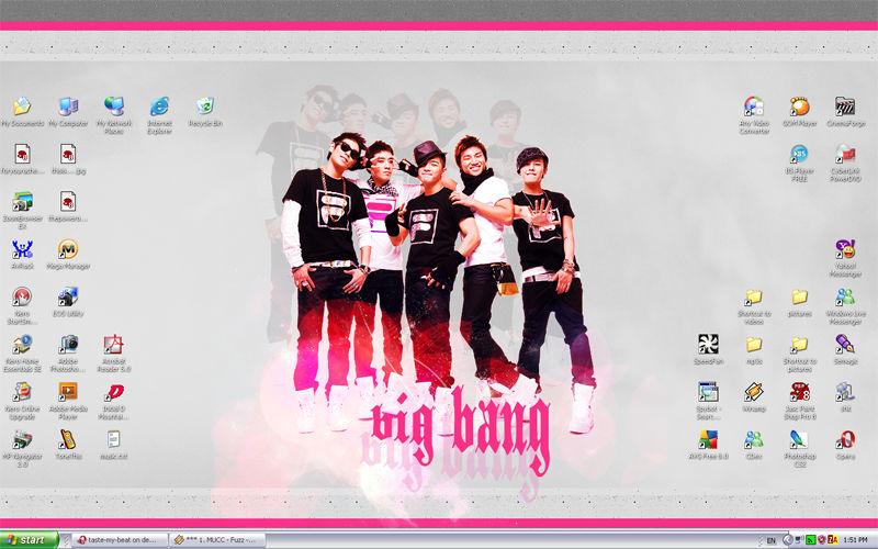 big bang wallpaper screenshot