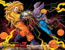battle of gods by the hunter Apocalips-Studio