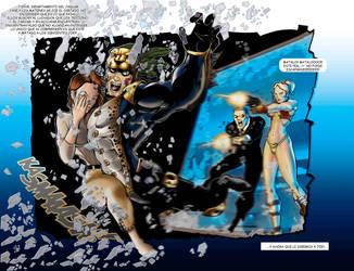 jaguar sagrado vol 2 pagina 18 y 19 by Apocalipsstudio