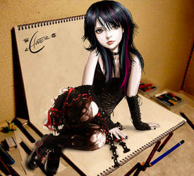 Rebelle Doll By Apocalipsstudio by Apocalipsstudio