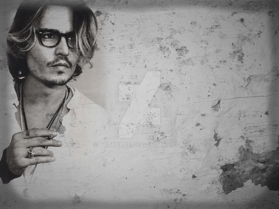 Johnny Depp In Gray By Potpeace On Deviantart