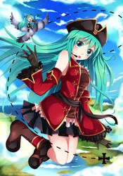 Hatsune Miku: Hato by SquChan