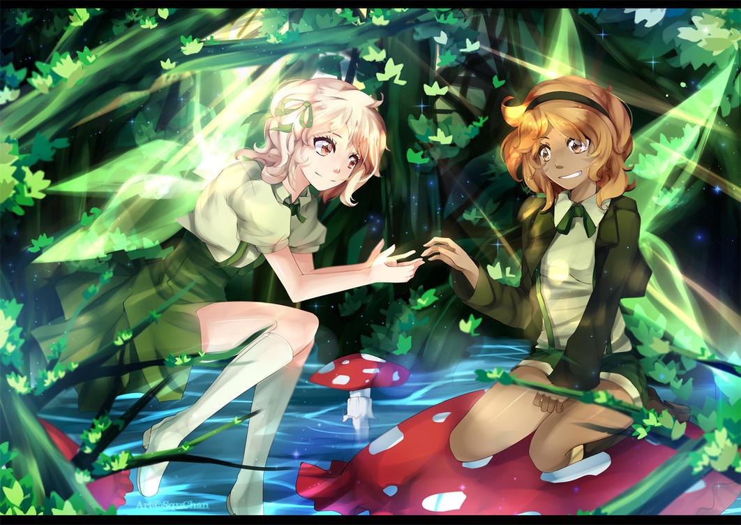 Comission to PocketMu by Squ-chan