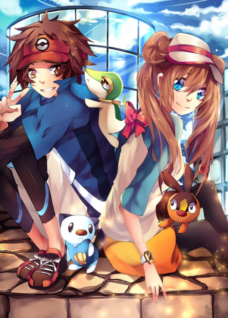 Pokemon Black and White 2 by Squ-chan