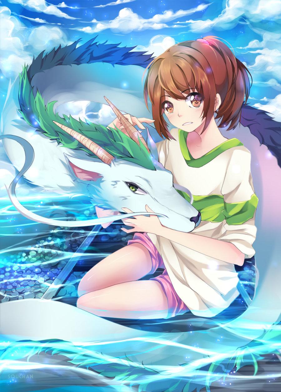 Spirited Away by Squ-chan