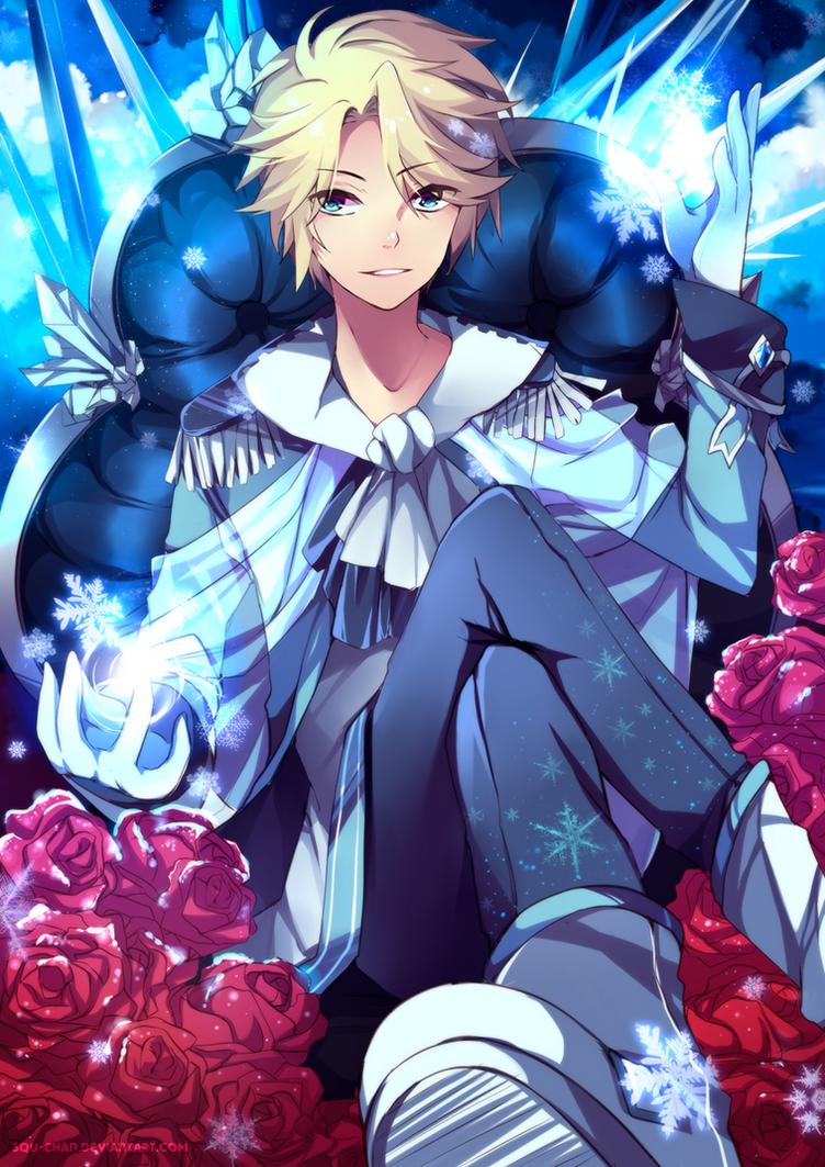 King Elsa by Squ-chan