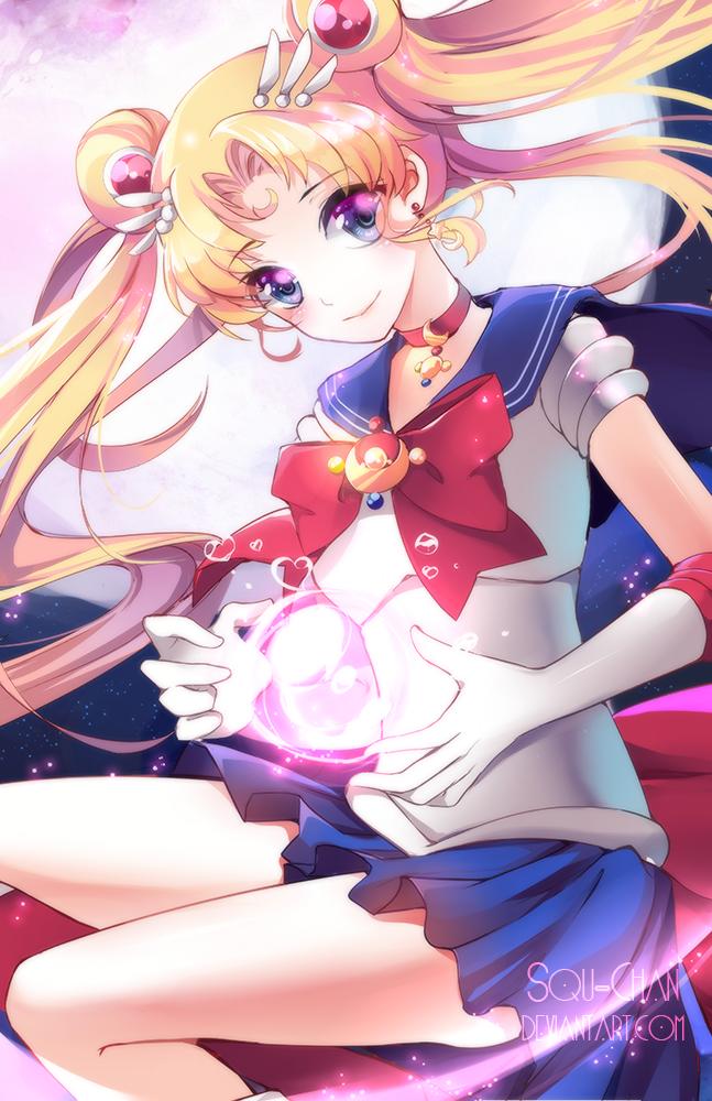 Sailor Moon by Squ-chan