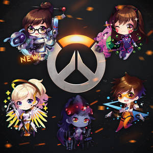 OVERWATCH keychains online available!