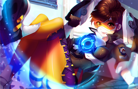 OVERWATCH: Tracer - .NSFW optional.