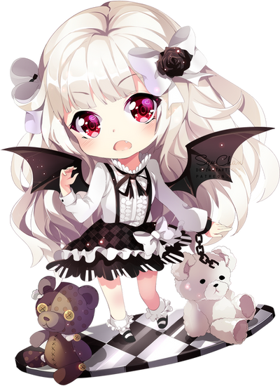 Chibi commission to Liliorl by SquChan