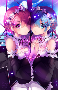 Re:Zero - Ram + Rem