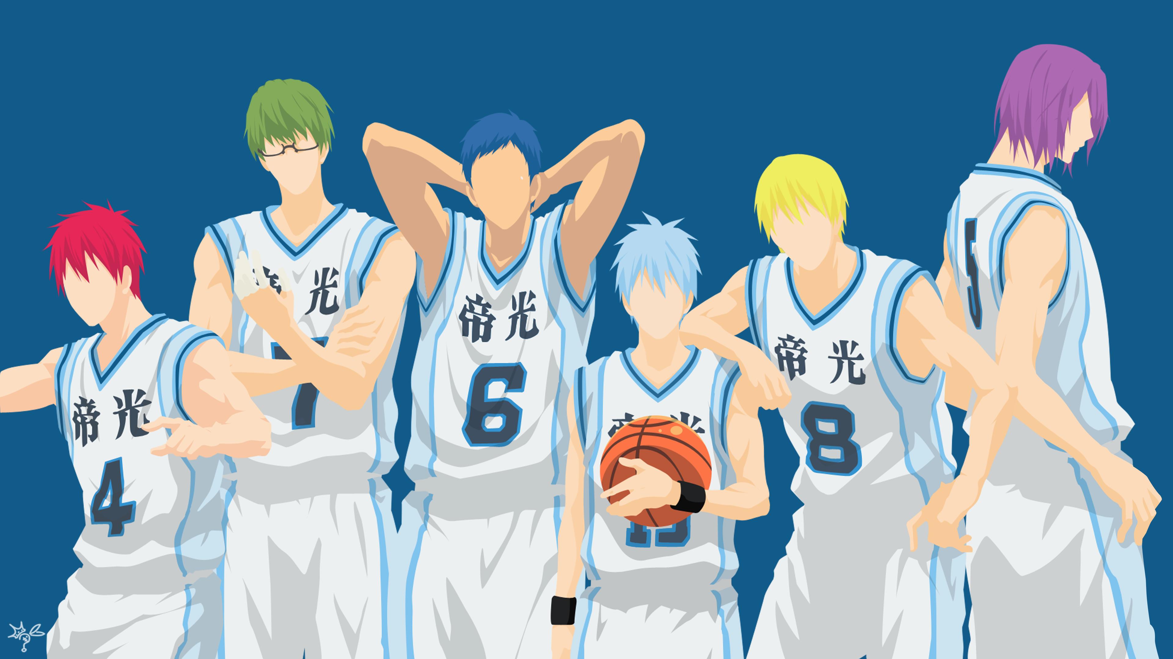 Kurokos basketball on minimalistic animoo deviantart carionto 8 1 kuroko no basket minimalist by xryns01 voltagebd Images