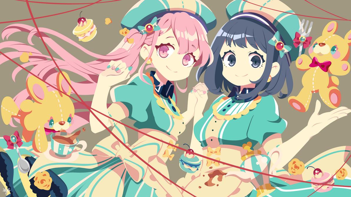 Ririna and  Misaki (Koi To Uso)  | Vektor by xryns01