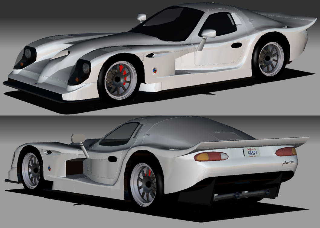 Panoz Esperante GTR-1 group GT1 (1997) - Racing Cars