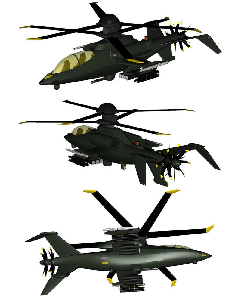 OAH-82A Black Mamba WIP 9 by Venom800TT
