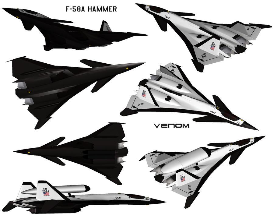F-58A Hammer 01 by Venom800TT