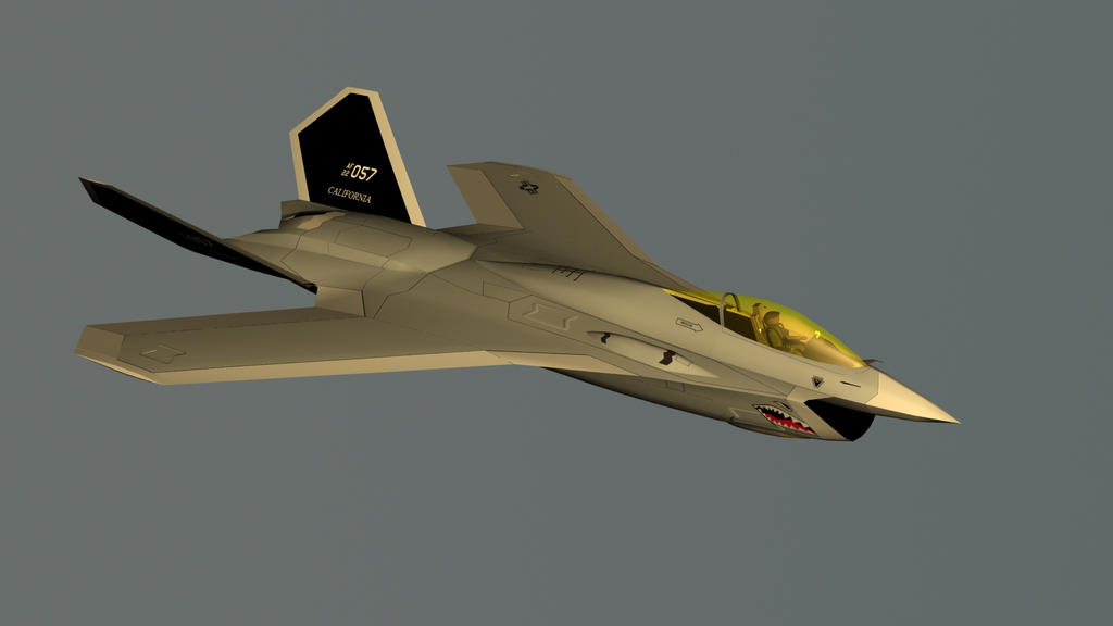 F-59A Saber II render 00 by Venom800TT