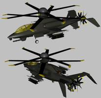 OAH-82A Black Mamba WIP 11 by Venom800TT