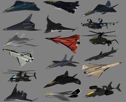 Current Combat Aircraft by Venom800TT