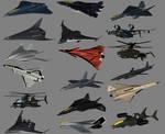 Current Combat Aircraft