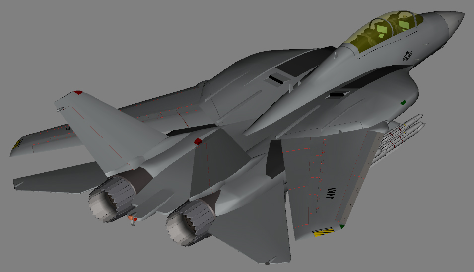 F-14E Block II upgrade WIP 1 by Venom800TT