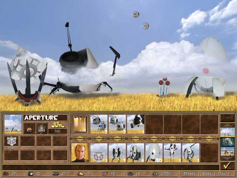 Heroes of Portals and Robots - Aperture