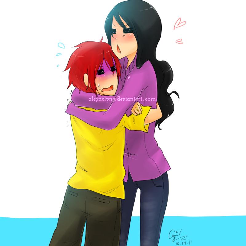 Tight hug by alexaclyne on deviantart - Tight hug wallpaper ...