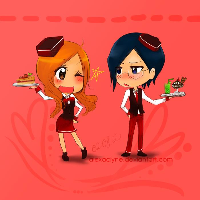 Prize: Waitress x Waiter by AlexaClyne