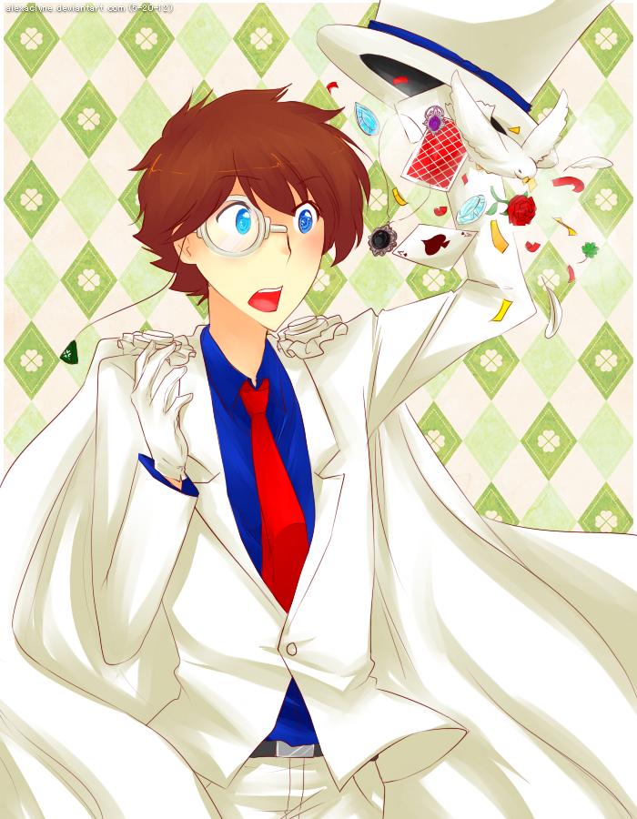 Kaito KID's Magic by AlexaClyne