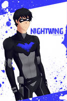 Nightwing by ayinvui