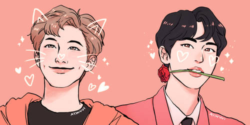 Namjin with Luv