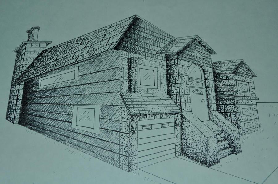 Line Art House : Rudin house herzog de meuron on behance