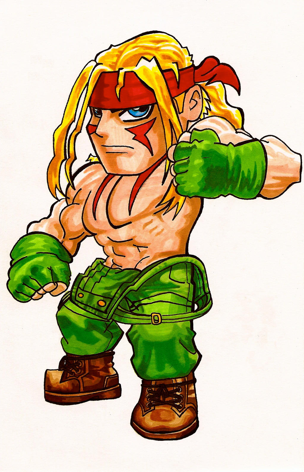 Street Fighter Chibi Alex By Fastg35 On Deviantart