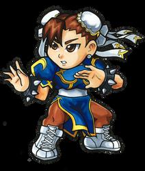 Street Fighter V - Chun-Li Chibi by fastg35