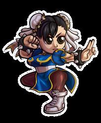 Street Fighter V - Chun-Li Chibi V.2 by fastg35